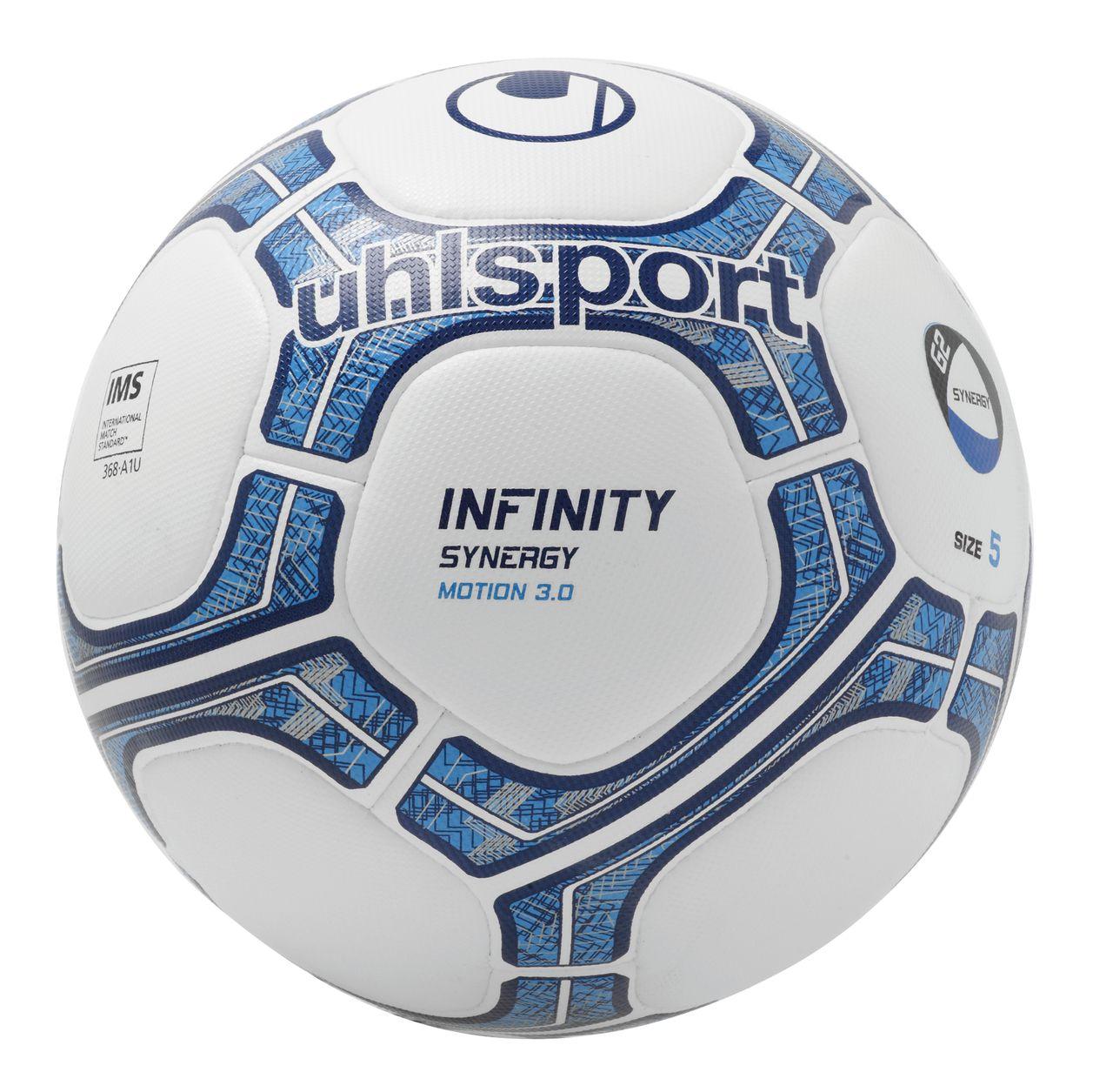 10 x Uhlsport Trainingsball INFINITY SYNERGY MOTION 3.0 inkl. Ballsack