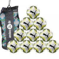 10 x PUMA Jugendball - FINAL Lite 290 g inkl. Ballsack 001