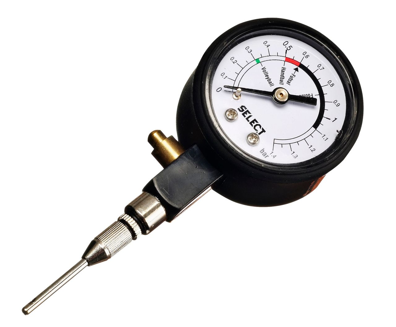 DERBYSTAR analog air pressure gauge