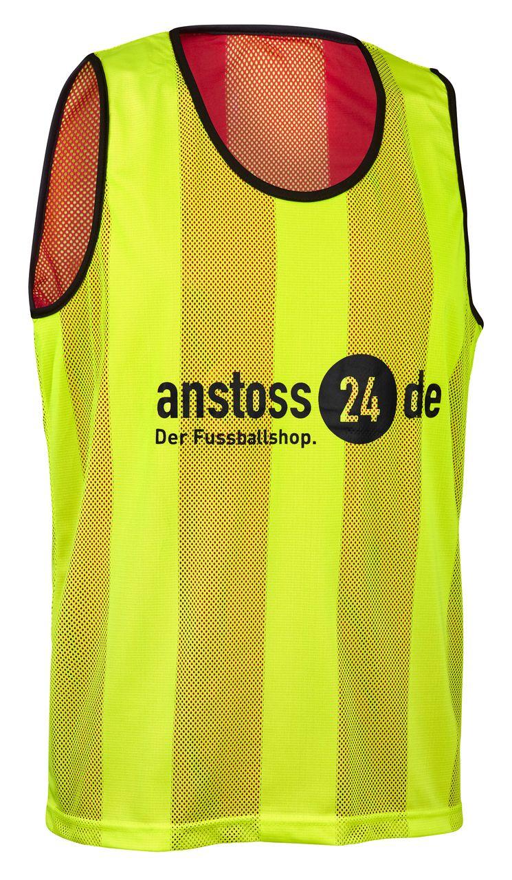 """ELF Sports Wende Leibchen mit Druck """"anstoss24.de"""""""