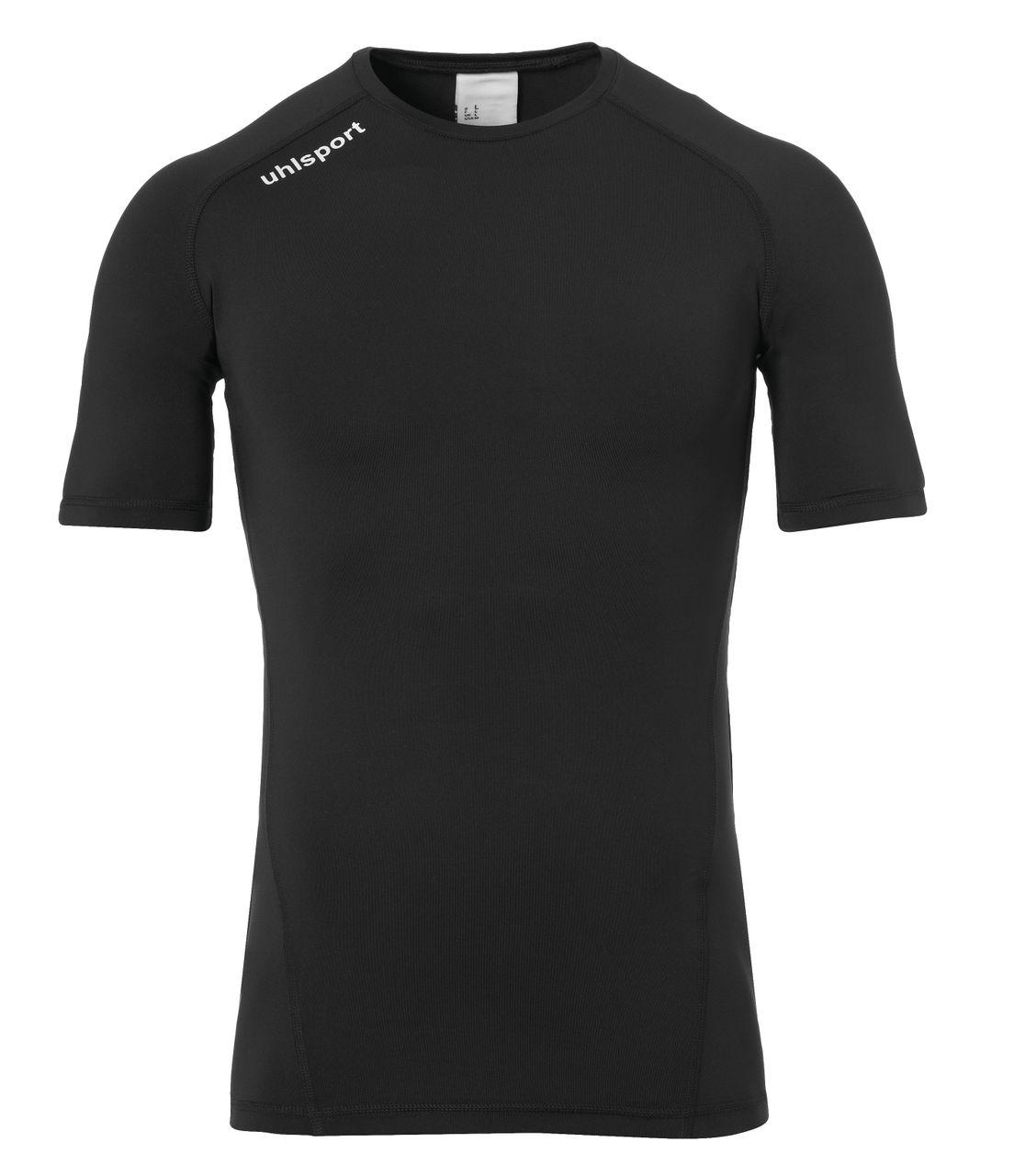 Uhlsport DISTINCTION PRO BASELAYER round neck compression shirt short sleeve