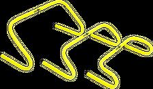 ELF Sports Hürdenset - 5 Stück - verschiedene Höhen