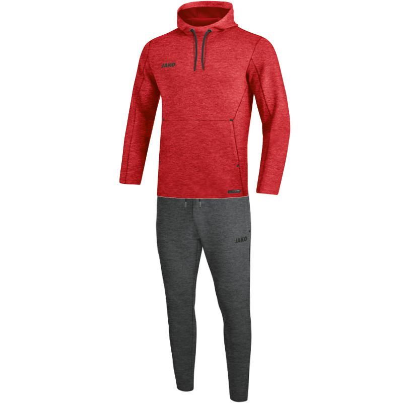 JAKO Jogginganzug Premium Basics mit Kapuzensweat