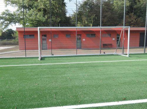 Transportables Jugendfußballtor - Kippsicher - Vollverschweißt - 5,00 x 2,00 m, inkl. Tornetz