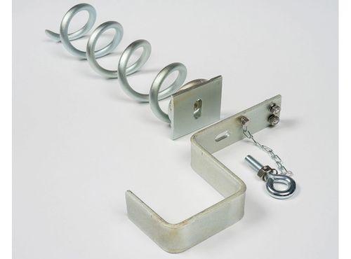 Sicherheits-Verankerungs-Systeme für freistehende Tore - Super