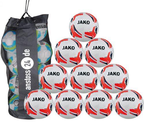 10 x JAKO Training Ball Match 2.0 incl. ball sack