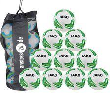 10 x JAKO Youth Ball Match 2.0 incl. ball bag