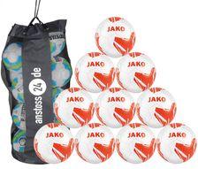 10 x JAKO Youth Ball Striker 2.0 MS incl. ball bag