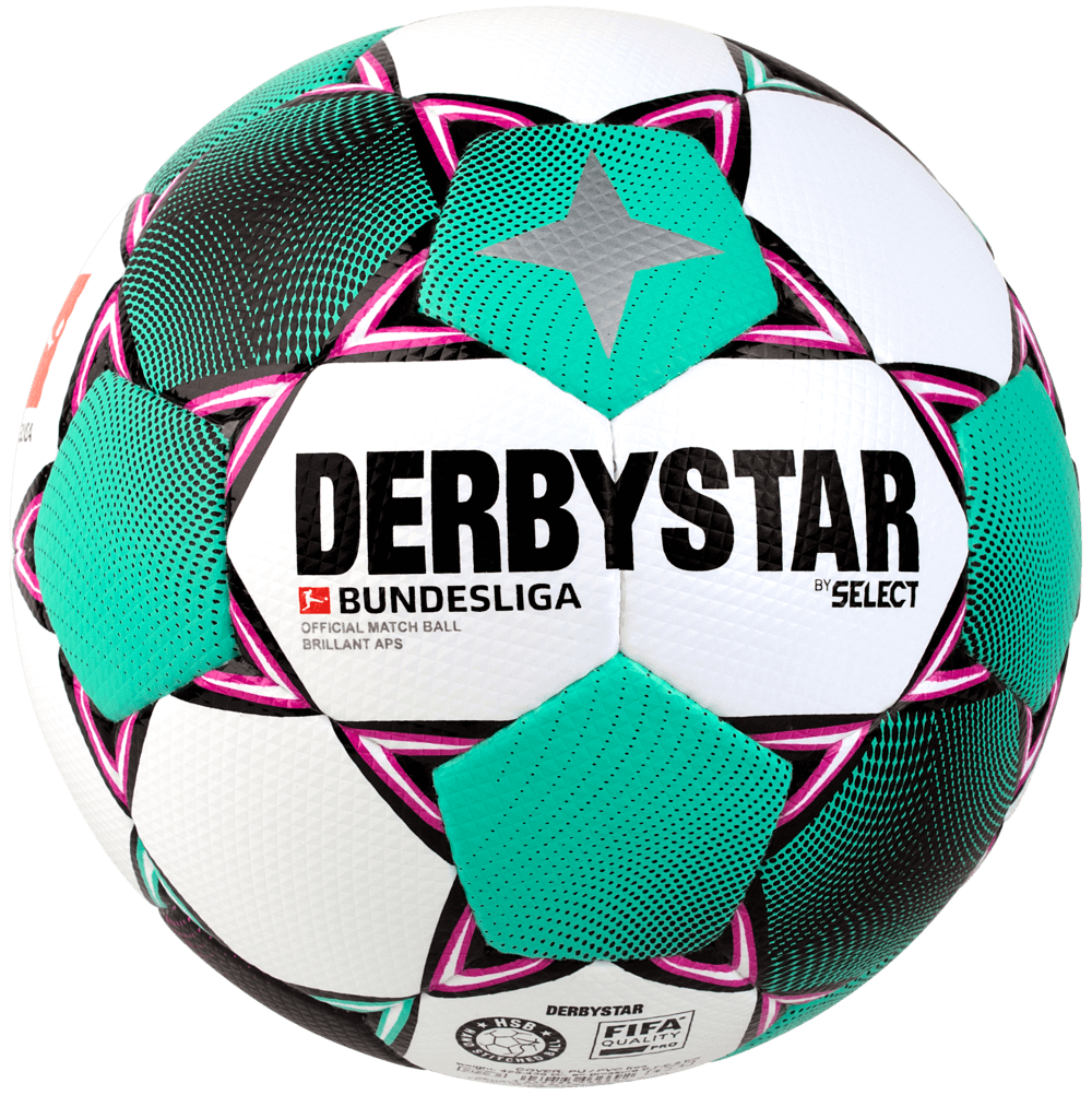 10 x DERBYSTAR match ball - BUNDESLIGA BRILLANT APS 20/21 incl. ball sack