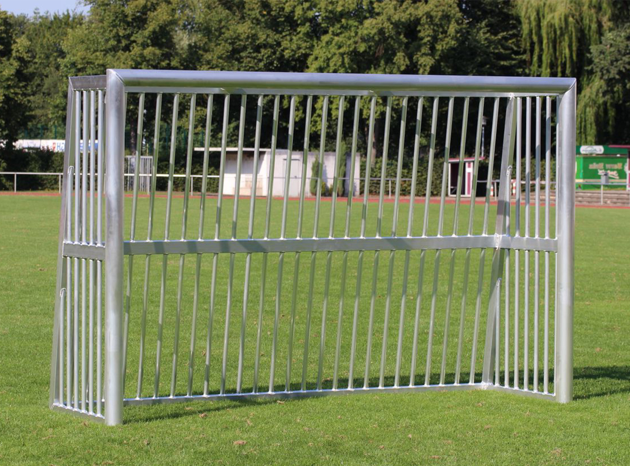 Football goal - SILENCE football field goal - 3,00 x 2,00 m - INDESTRUCTIBLE