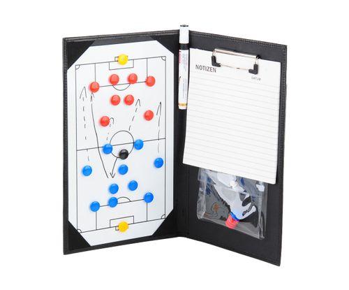 Handliche Magnet-Taktikmappe / Coachmappe 36x23cm inkl. Zubehör