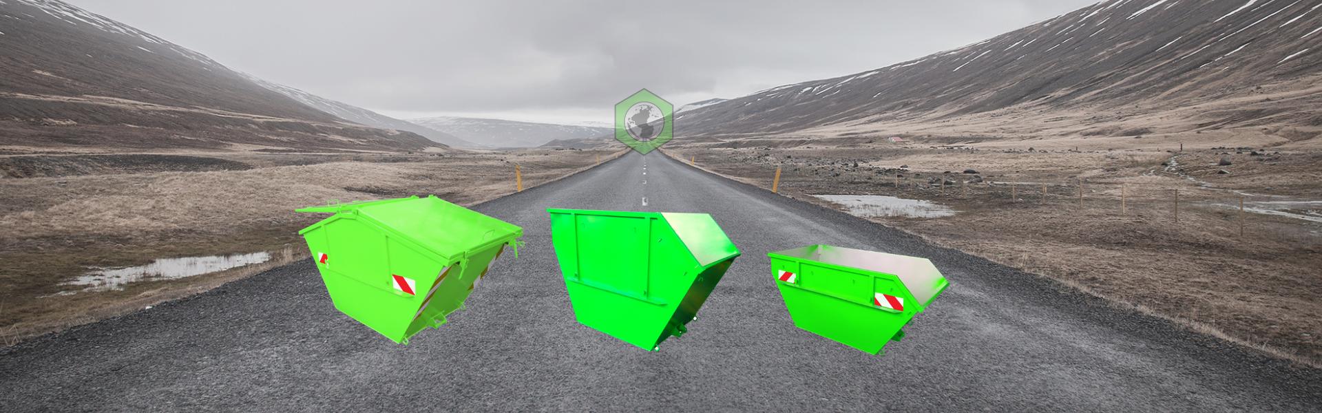 Multicar (Citycontainer) & Kippbehälter