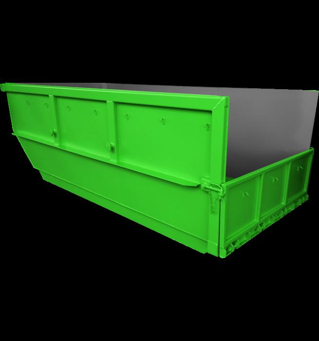 Absetzcontainer Hamburger Baureihe CONAUH (offen, asymmetrisch, alte DIN 30720, RAL-Farbton nach Wunsch)