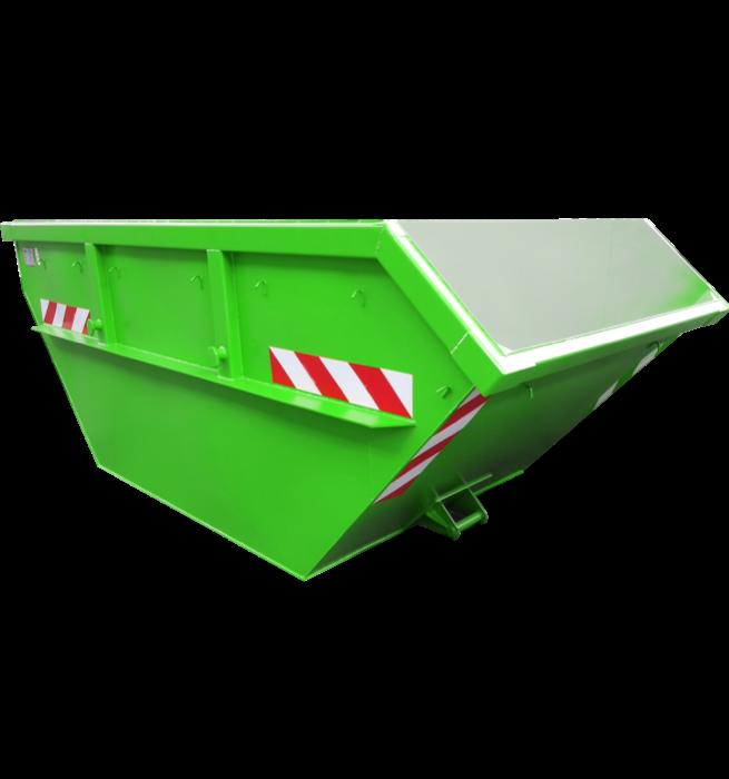 Absetzcontainer CONAU (offen, asymmetrisch, alte DIN 30720, RAL-Farbton nach Wunsch)