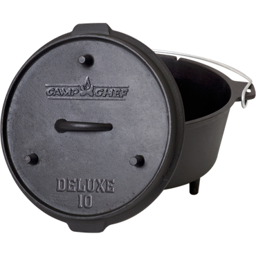 Camp Chef Deluxe Dutch Oven DO-10 – Bild 1