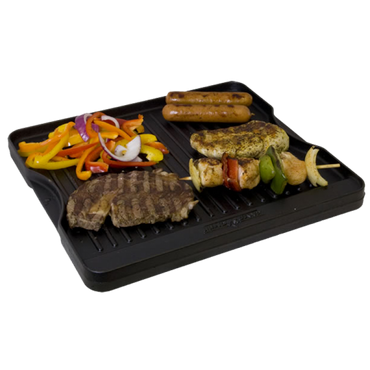 Camp Chef Cast Iron Reversible Grill/Griddle 40 cm (CGG-16B) – Bild 2