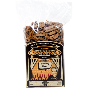 Axtschlag Strong Beer- Eiche Smoking Chips (1 kg)
