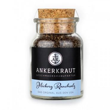 Ankerkraut Hickory Rauchsalz (Meersalz), 90g Korkenglas
