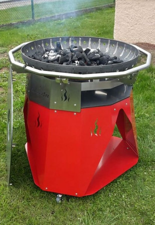 Outdoor Fire BBQ 1000 (Feuerplatte Outdoorfire) – Bild 9
