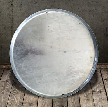 Bodenblech (52 cm), verzinkt für Feuerkorb 112 (50 l)