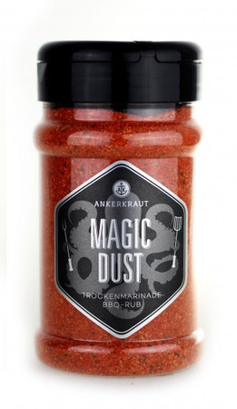 Ankerkraut Magic Dust, BBQ-Rub, 230g Streuer – Bild 1