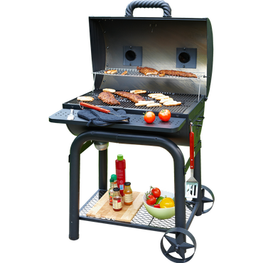 Grill'n Smoke Barbecue Star BBQ-Grill (Holzkohle BBQ Grill) – Bild 2