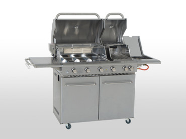 Coobinox Gasgrill 4 BE Double Power - Luxus Linie