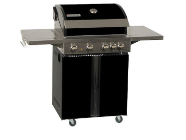 Coobinox Gasgrill 4 BE Royal Design: 4 Brenner + Backburner – Bild 1