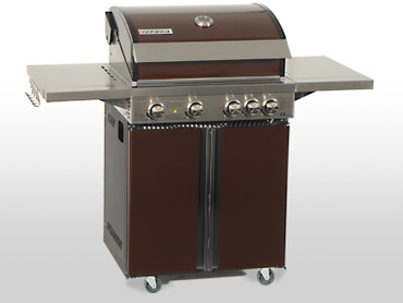 Coobinox Gasgrill 4 BE Royal Design: 4 Brenner + Backburner – Bild 6