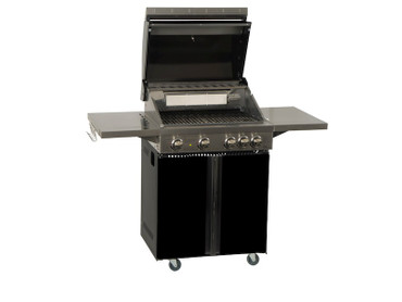 Coobinox Gasgrill 4 BE Royal Design: 4 Brenner + Backburner – Bild 2