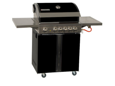 Coobinox Gasgrill 4 BE Royal Design mit WOK: 4 Brenner + Backburner + Wokbrenner – Bild 1