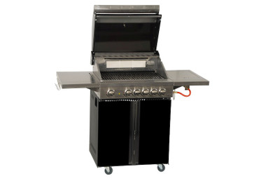 Coobinox Gasgrill 4 BE Royal Design mit WOK: 4 Brenner + Backburner + Wokbrenner – Bild 2