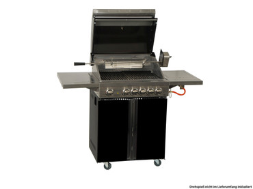 Coobinox Gasgrill 4 BE Royal Design mit WOK: 4 Brenner + Backburner + Wokbrenner – Bild 7
