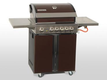 Coobinox Gasgrill 4 BE Royal Design mit WOK: 4 Brenner + Backburner + Wokbrenner – Bild 8