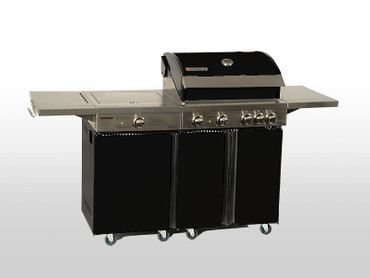 Coobinox Gasgrill 4 BE Royal Design mit WOK: 4 Brenner + Backburner + Wokbrenner – Bild 11