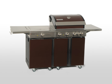 Coobinox Gasgrill 4 BE Royal Design mit WOK: 4 Brenner + Backburner + Wokbrenner – Bild 12