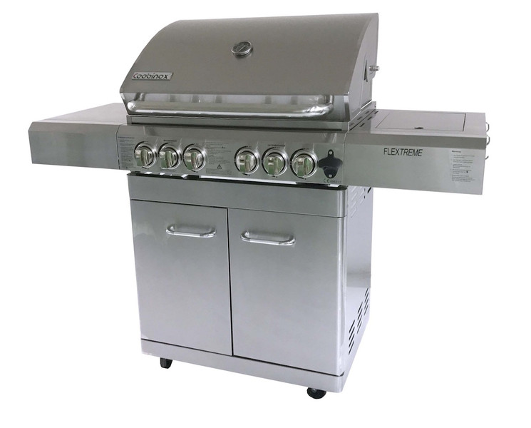 Outdoorküche Mit Gasgrill Reinigen : 4 brenner backburner power station infrarot keramikbrenner