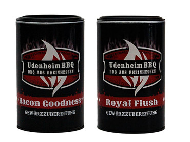 UdenheimBBQ Rub Tasting Paket XL (Bacon Goodness & Royal Flush je 350g)