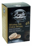 Bradley Smoker: Whiskey Oak Eiche Bisquetten - 48er Pack 001