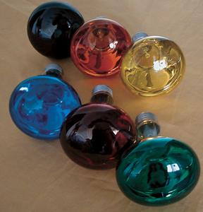 Reflektor Glühlampe R 80 60 Watt rot Sockel E-27 230 Volt 50 Hertz -#1058 – Bild 2