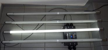 LED Röhren Lauflicht mit 4 x 1,50 m LED Röhren kalt weiß / -#1749 – Bild 2