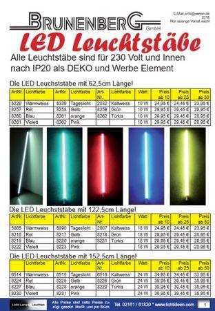 Werbeblatt LED Leuchtstab IP20 -#2260