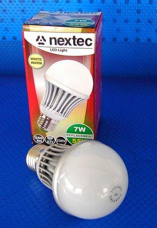 LED Lampe 7 Watt 600 Lumen E27 warmweiss -#2043 – Bild 1