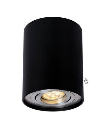 LED Aufbau Leuchte CHLOE schwarz Ø 96 x 125 mm IP-20 / -#252 – Bild 1