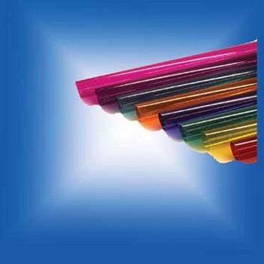 Farbrohr 590 mm Ø 30 mm pink für Leucht-Röhren -#3024