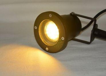 LED Gartenspot 3,5W 300 Lm 230V Erdsp. Kaltweis -#3031 – Bild 1