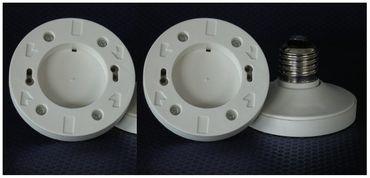 Adapter von E-27 auf Sockel GX-53 Kunststoff 3-er Pack -#3129