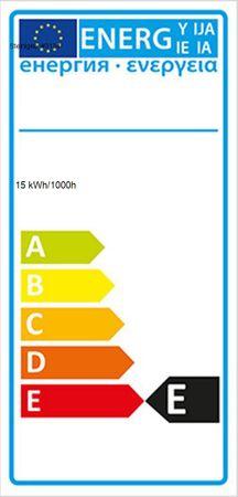Schwarzlichtleiste Kunststoff 15 Watt Slim-Line -#3134 – Bild 2
