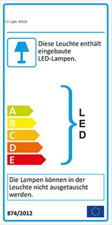 Kristall Einbaustrahler GU10 Halo/LED Quadrat ALU -#3254 – Bild 2