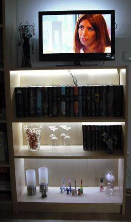 LED Regal Beleuchtung warmweiss 4 x 75 cm inclusive Netzteil -#3295 – Bild 1